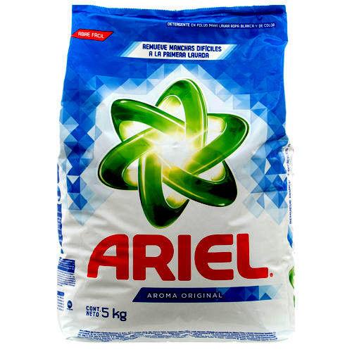 ARIEL LAUNDRY DETERGENT 4 X 5 kg